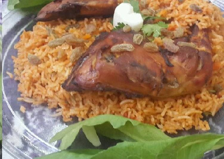 Chicken Kabsa Recipe By Zeenath Muhammad Amaanullah Cookpad