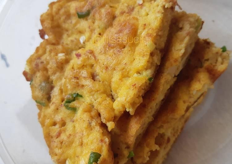 Omelet Tahu Kornet