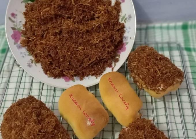Roti Abon Ayam Homemade