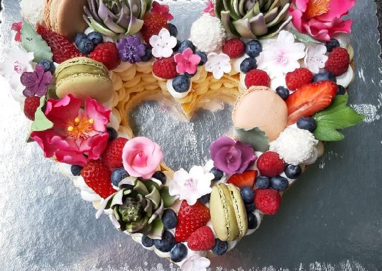 Phenomenal Big Birthday Cake Recipe By Vesna Kostovic Cookpad Funny Birthday Cards Online Alyptdamsfinfo
