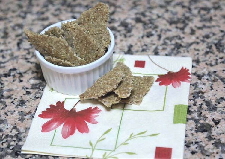 Recipe: Appetizing Vegan Gluten-Free Sesame Bars