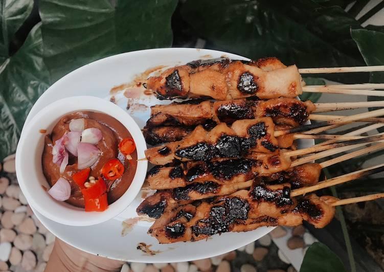 Sate Ayam Teflon - cookandrecipe.com