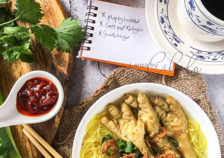 Bihun sup Kaki ayam #phoplinimohd #cookpadmalaysia #juadahraya - velavinkabakery.com