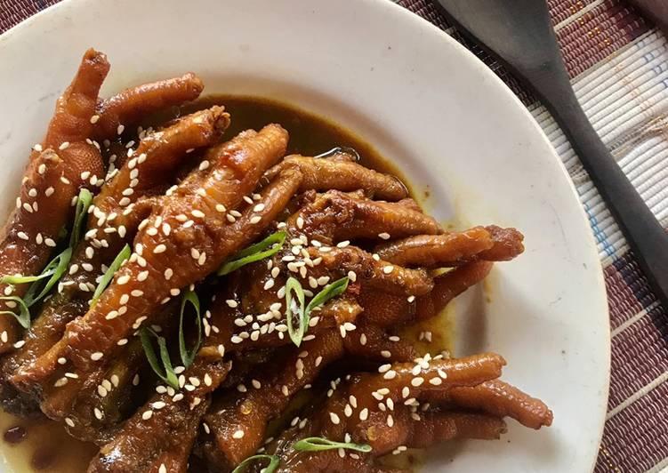 Resep Ceker Ayam Pedas Manis Bikin Laper