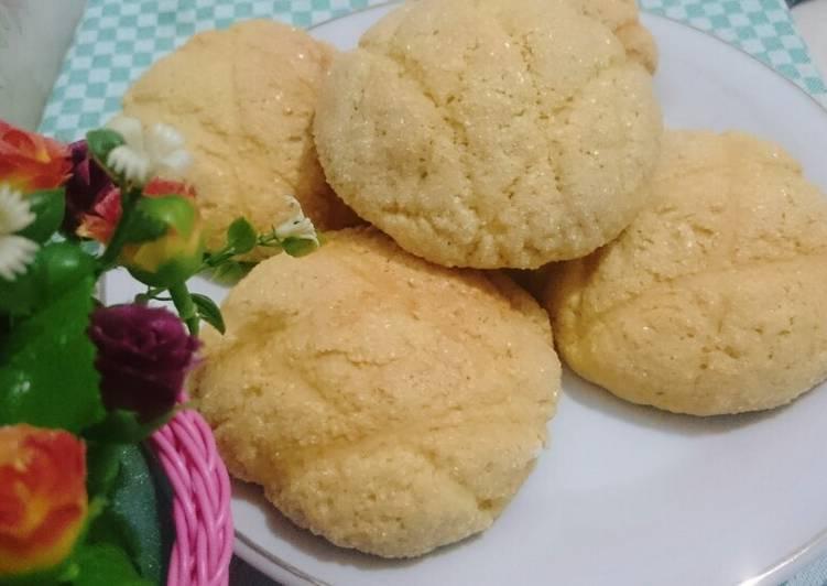 roti-jepang-melon-pan