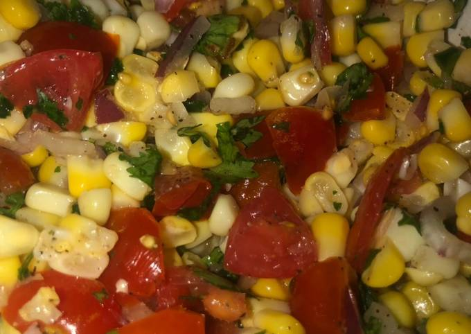 How to Cook Perfect Corn salsa🌽