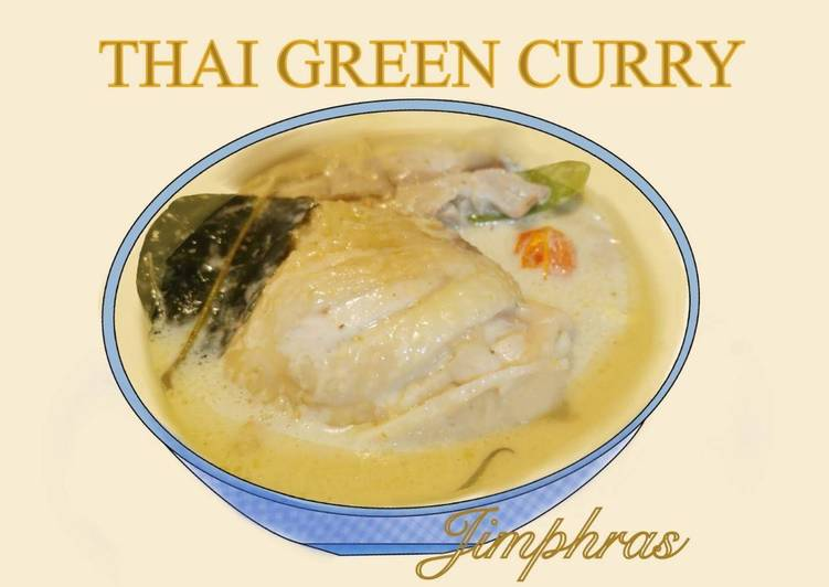 Steps to Prepare Homemade Thai Green Curry