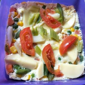 Simple steam T2 *tofu telur* (untuk diet)