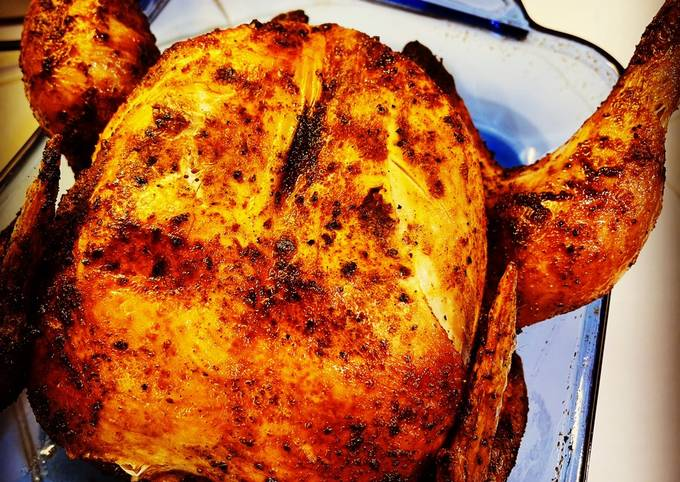 Air Fryer Whole Chicken - Rotisserie Style