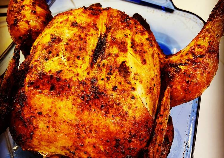 Air Fryer Whole Chicken - Rotisserie Style