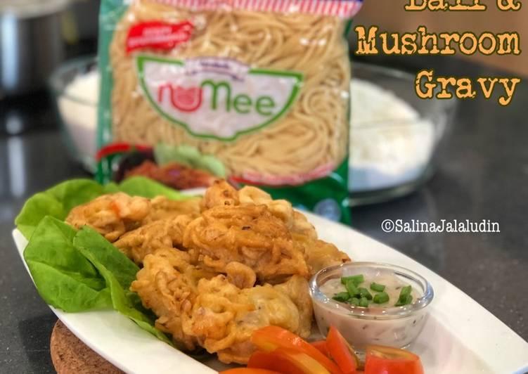 NuMee Ball & Mushroom Gravy - velavinkabakery.com