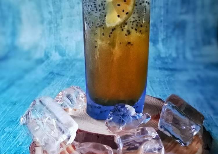 Diamond lemon tea - resepipouler.com