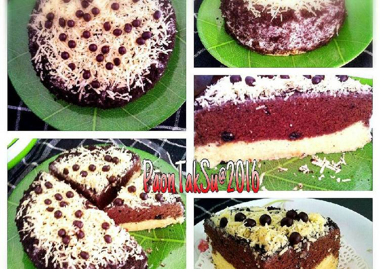 Steam Cake Mini (Cheese cake+brownies)