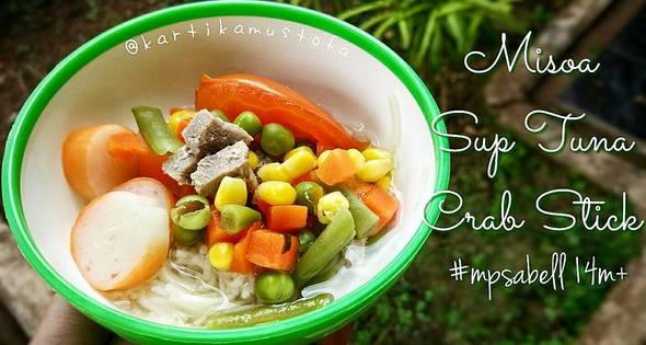 Misoa Sup Tuna Crab Stick - Mpasi 1 Tahun - Mpasi 14 Bulan