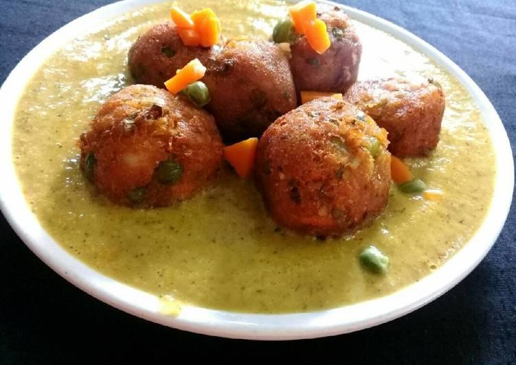 Teach Your Children To Vegetable (mix) kofta curry..