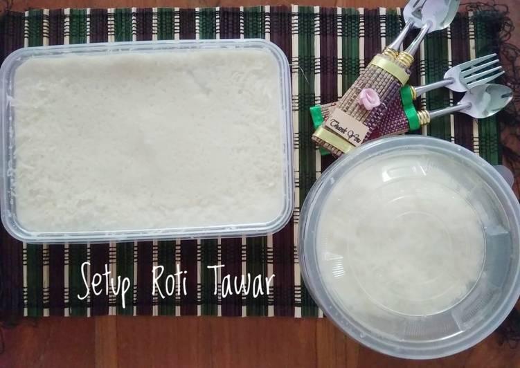 Setup Roti Tawar Keju