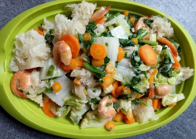 Resep Cap Cay Goreng Sederhana Anti Gagal
