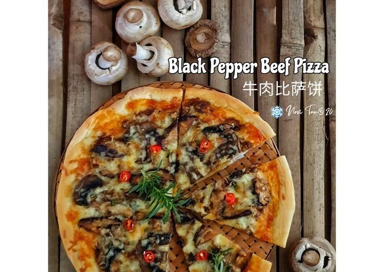 232. Pizza Sapi Lada Hitam | 牛肉比萨饼