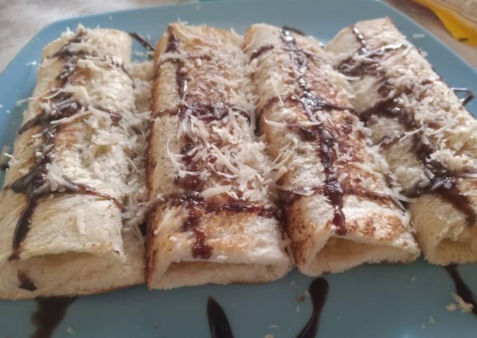 Roti Bakar Pisang Coklat Istimewa