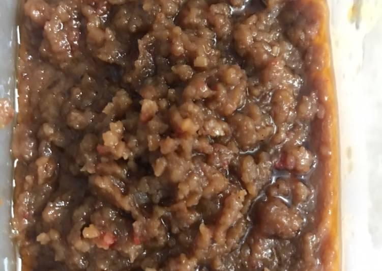 Bumbu kacang untuk cilok, siomay, batagor