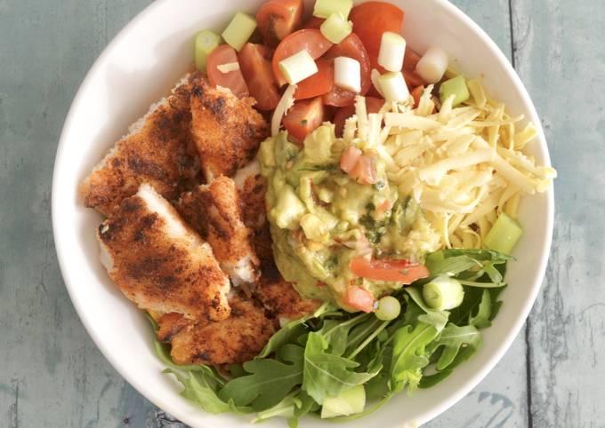Fish Burrito Bowl