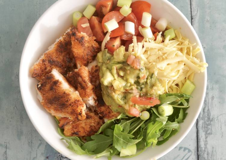 How to Make Perfect Fish Burrito Bowl