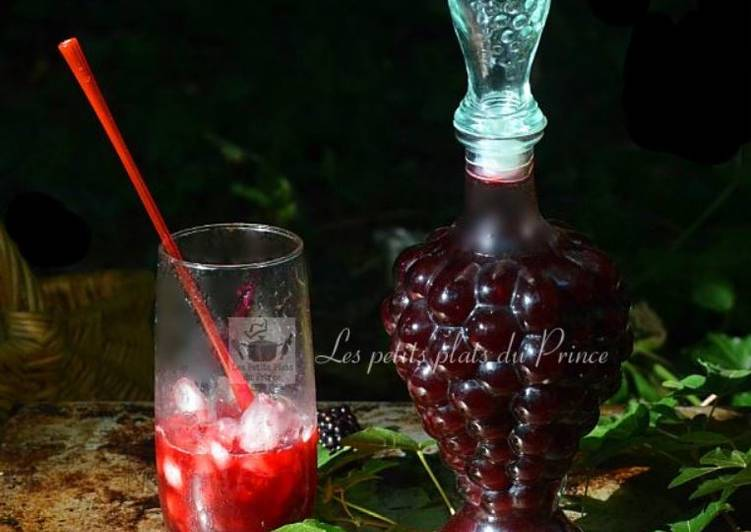 How to Make Tasty Sirop de mûres, méthode traditionnelle