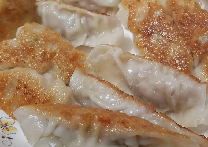 Pan Seared Chinese Dumplings 鍋貼