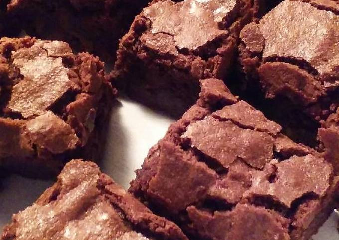 Easiest Way to Make Appetizing Homemade Fudgy Brownies