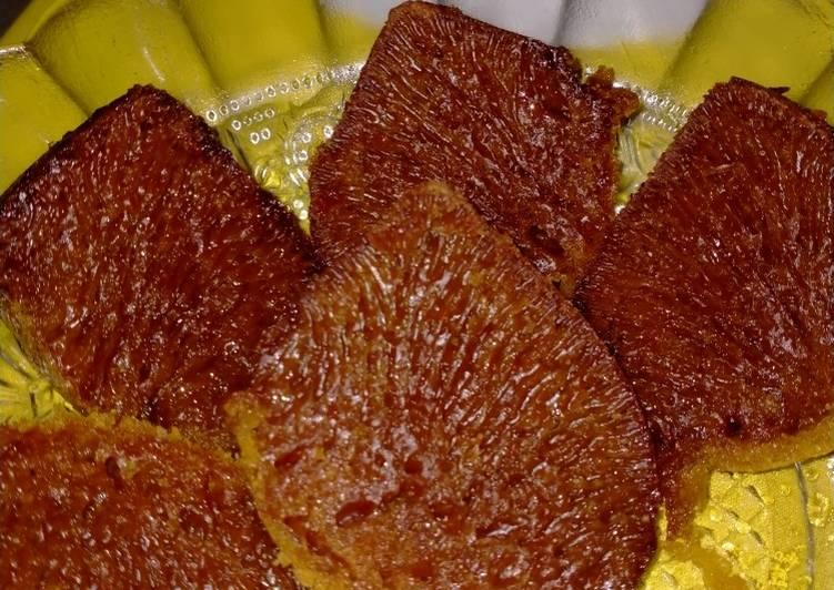 resep bikin Bolu karamel - Sajian Dapur Bunda