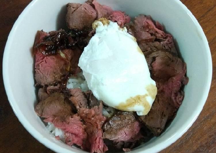 Resep Japanese Roast Beef Enak