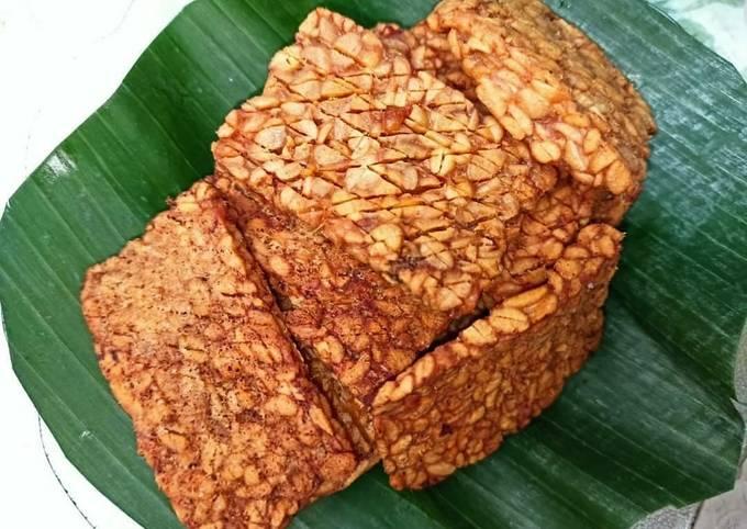 12. tempe garit kering pendamping nasi gandul khas pati - resepenakbgt.com