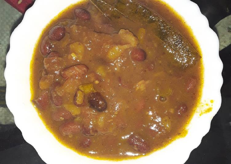 Peanut and rajma curry Choosing Fast Food That's Good For You