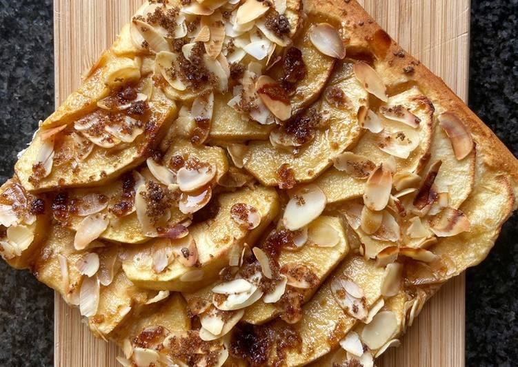 Pizza aux pommes
