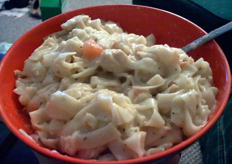 Recipe: Delicious Tuscan chicken pasta