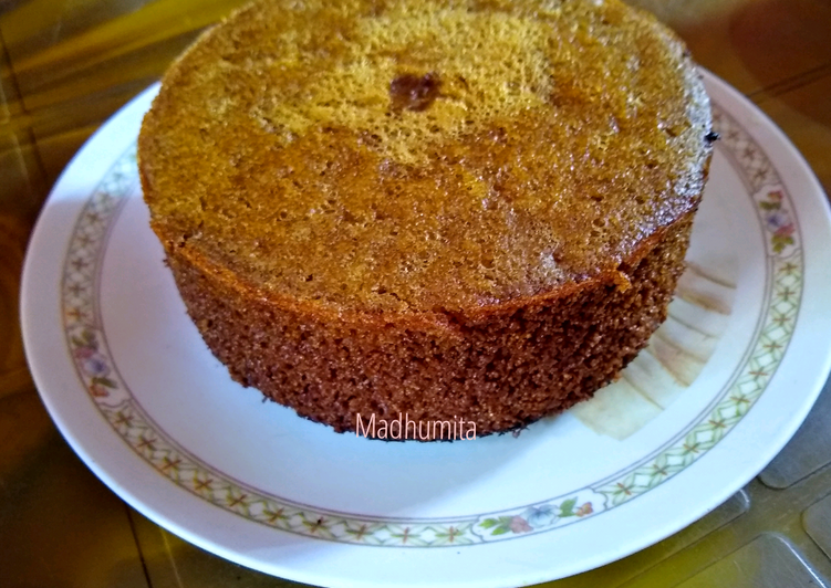 Semolina coffee Cake (no oven)