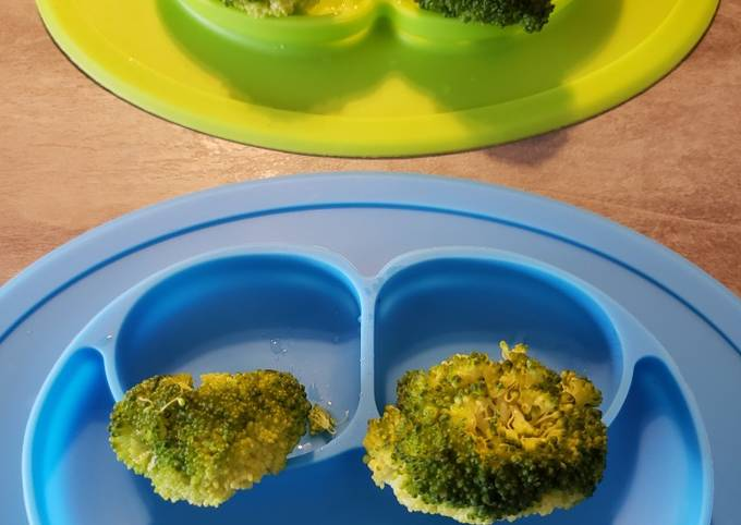 BLW Steamed Broccoli