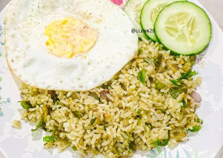 Resep Nasi goreng Ijo & Tips nya Top