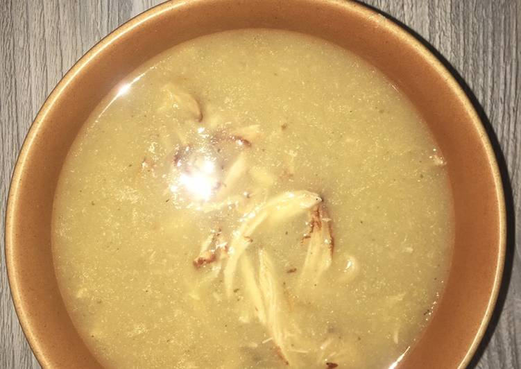 Recipe: Perfect Best chicken soup ever