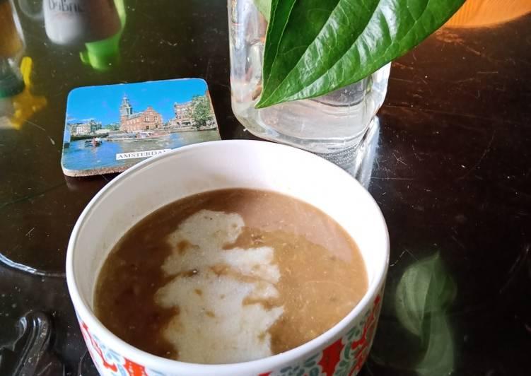 Bubur kacang hijau presto