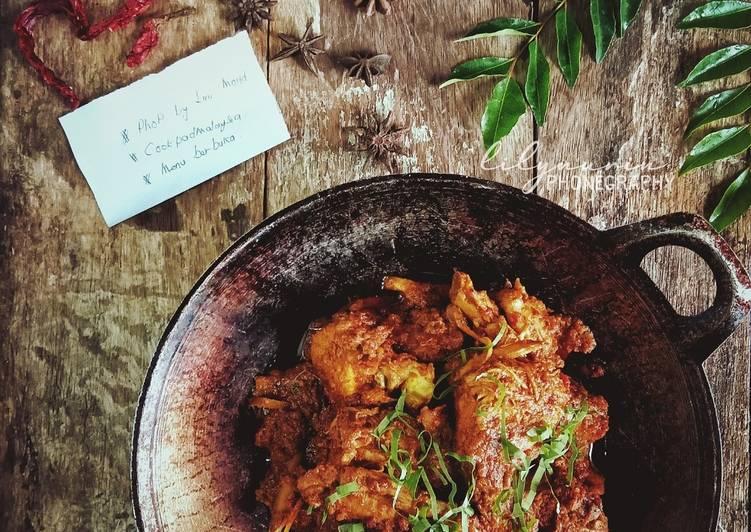 Rendang ayam #PhoPbyLiniMohd #menuberbuka - velavinkabakery.com