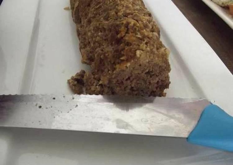 Rollo ranchero de carne molida y puré de garbanzo estilo el ocote