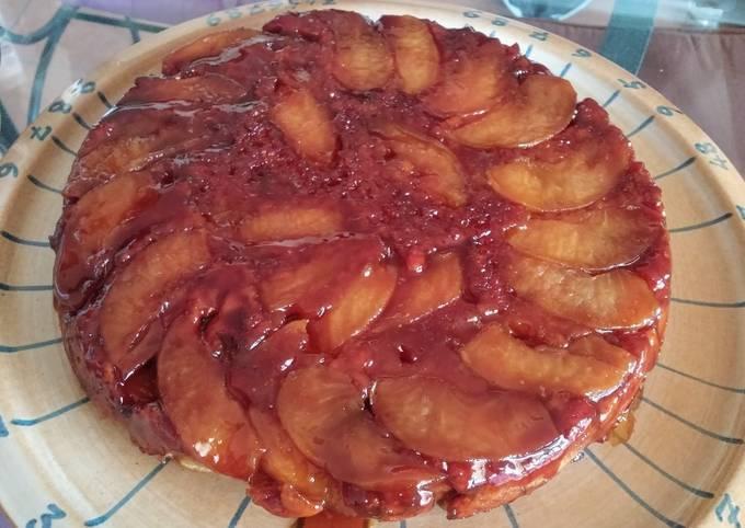 Gâteau aux pommes caramélisées (vegan)