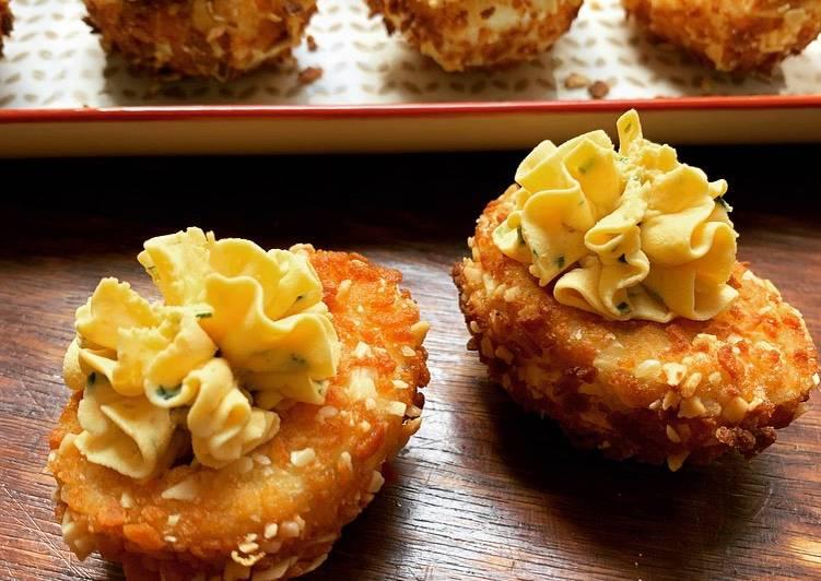 ☆Oeufs Mimosa Crunchy☆