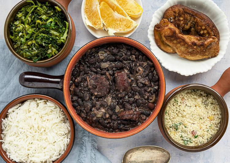 Easiest Way to Make Most Popular Feijoada (Brazilian Black Beans Stew)