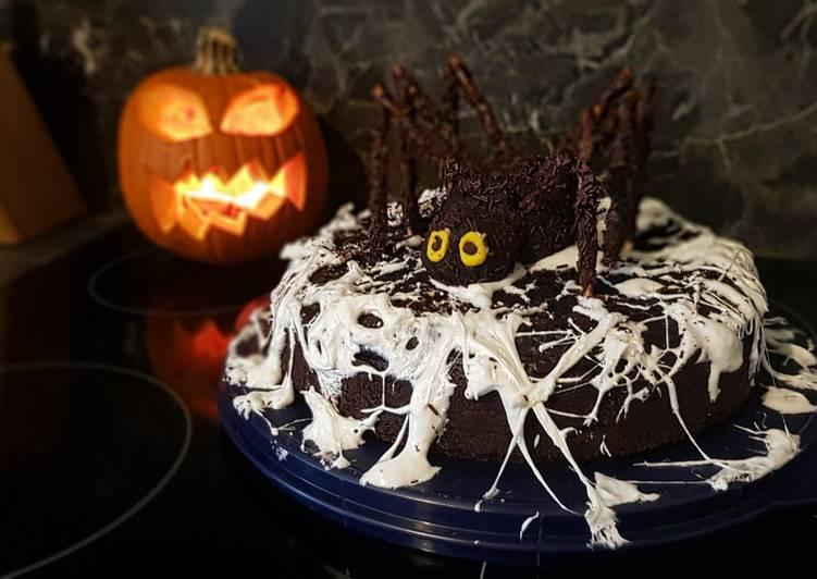 Comment Préparer Des 33• 🕷 Gâteau d'Halloween Choco-Oreo et sa terrifiante araignée 🕷