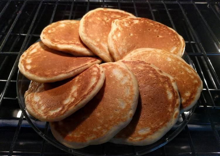 Dad's Sunday Pancakes