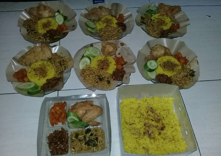 Resep Nasi Kuning Komplit Untuk Ulang Tahun Endesss Oleh Devi