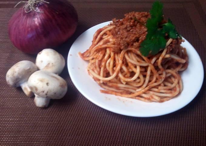 Nicole's Simple Spaghetti