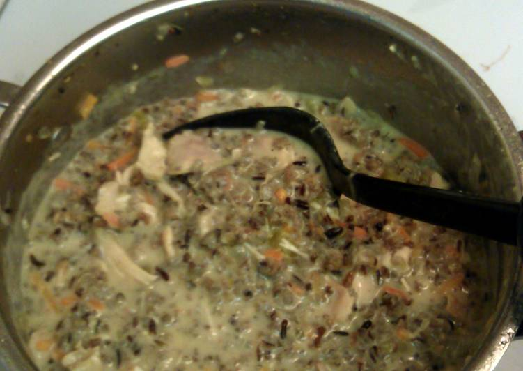 chicken wild rice soup, Choosing Fast Food That's Very good For You